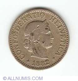 Image #2 of 10 Rappen 1882