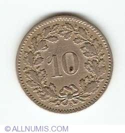 Image #1 of 10 Rappen 1882