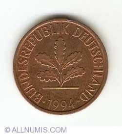 Image #2 of 2 Pfennig 1994 J