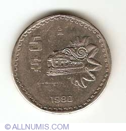 Imaginea #1 a 5 Pesos 1980