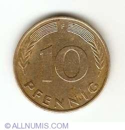 10 Pfennig 1977 F