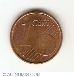 Image #1 of 1 Euro Cent 2002 F