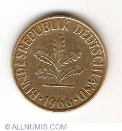 Image #2 of 10 Pfennig 1966 F