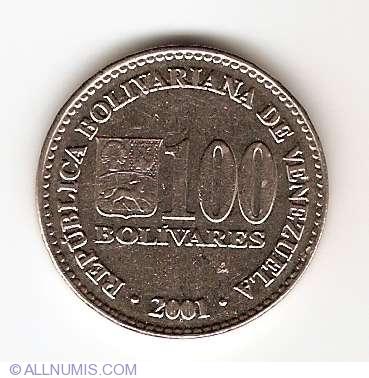 100 Bolivares 2001
