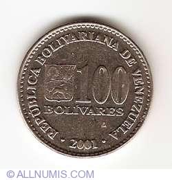 Image #1 of 100 Bolivares 2001