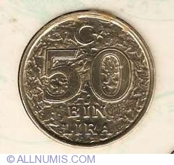 Image #1 of 50000 Lira 1996 FAO