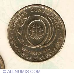 Image #2 of 50000 Lira 1996 FAO