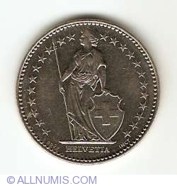 Image #2 of 2 Francs 1994