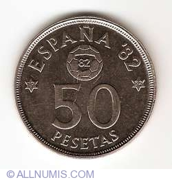 Imaginea #1 a 50 Pesetas 1980 (82)