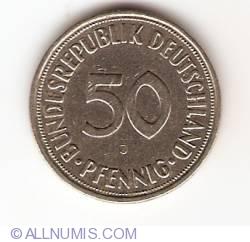50 Pfennig 1950 J