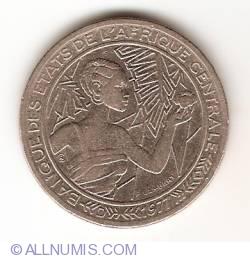 Image #2 of 500 Francs 1977 D - Gabon