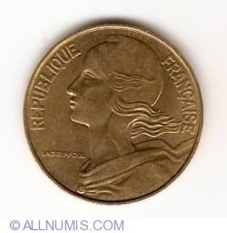 Image #2 of 20 Centimes 1992
