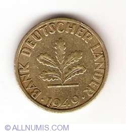 Imaginea #2 a 5 Pfennig 1949 F