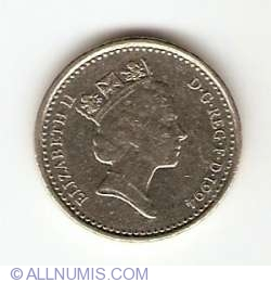 5 Pence 1994