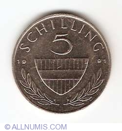 Image #1 of 5 Schilling 1991