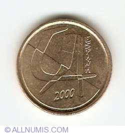 Image #2 of 5 Pesetas 2000
