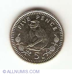 Imaginea #1 a 5 Pence 2002