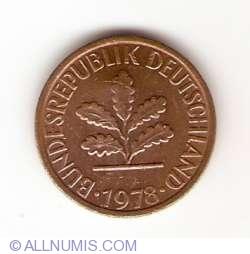 Image #2 of 1 Pfennig 1978 D