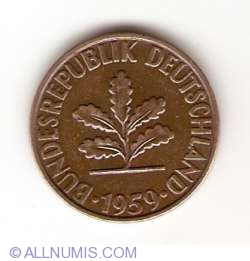 Image #2 of 2 Pfennig 1959 D