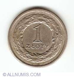 Imaginea #1 a 1 Zloty 1990