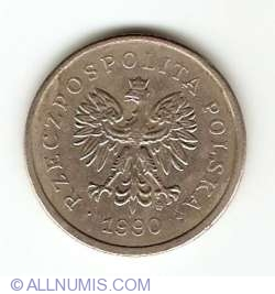 Imaginea #2 a 1 Zloty 1990