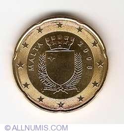 Imaginea #2 a 20 Euro Centi 2008