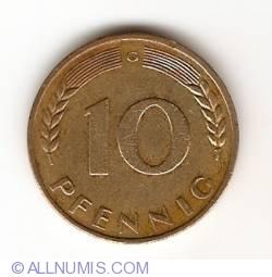 Image #1 of 10 Pfennig 1970 G
