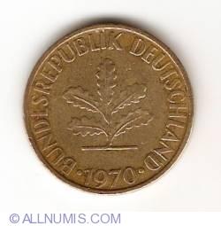 Image #2 of 10 Pfennig 1970 G