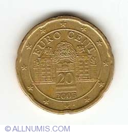 Image #2 of 20 Euro Cent 2003