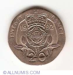 20 Pence 1992