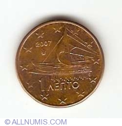 Image #2 of 1 Euro Cent 2007
