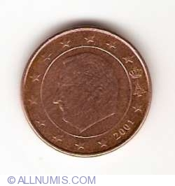 Image #2 of 1 Euro Cent 2001