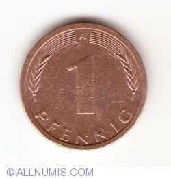 Image #1 of 1 Pfennig 1992 A