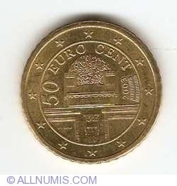 Imaginea #2 a 50 Euro Centi 2003