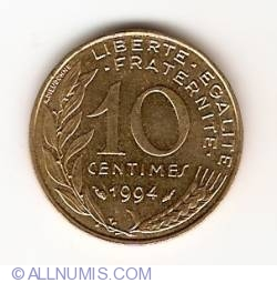 Image #1 of 10 Centimes 1994
