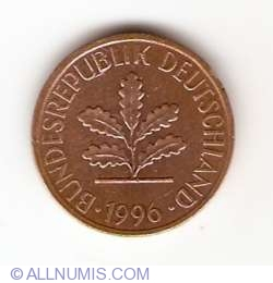 Image #2 of 1 Pfennig 1996 D