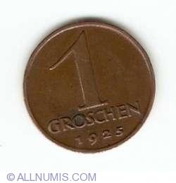 Image #1 of 1 Groschen 1925