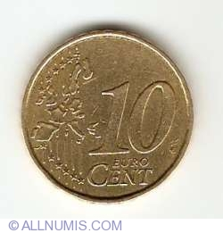 Image #1 of 10 Euro Cent 2002 (F in star)