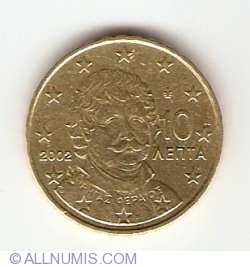Image #2 of 10 Euro Cent 2002 (F in star)
