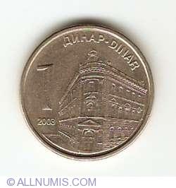 Imaginea #1 a 1 Dinar 2003
