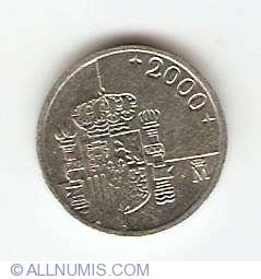 Image #2 of 1 Peseta 2000