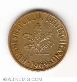 Image #2 of 10 Pfennig 1969 J