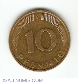 Image #1 of 10 Pfennig 1994 D