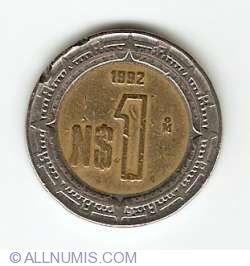 1 Nuevo Peso 1992