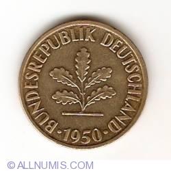 Image #2 of 10 Pfennig 1950 J