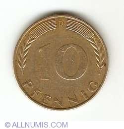 Image #1 of 10 Pfennig 1970 D