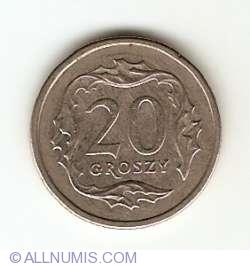 Imaginea #1 a 20 Groszy 2001