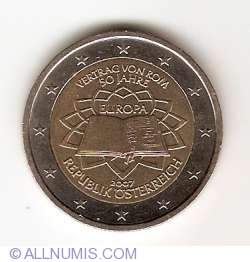 Image #2 of 2 Euro 2007 - 50th anniversary of the Treaty of Rome