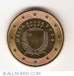 Imaginea #2 a 50 Euro Centi 2008