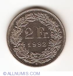 Image #1 of 2 Francs 1992